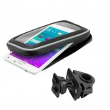 Smartphone case with handlebar mount